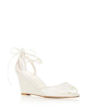 Women's Pamela Lace Wedge Sandals