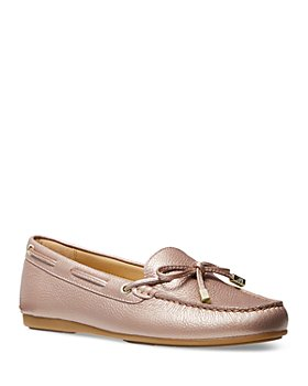 MICHAEL Michael Kors - Women's Sutton Leather Moccasins