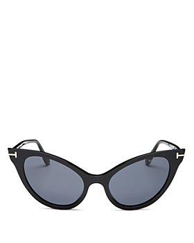 Tom Ford - Women's Evelyn Cat Eye Sunglasses, 53mm
