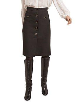 Gerard Darel - Mirella Button Front Pencil Skirt