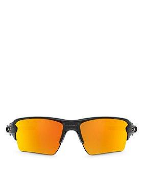 Oakley - Men's Flak 2.0 Polarized Rectangular Sunglasses, 59mm