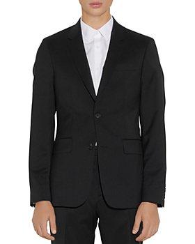 Sandro - Formal Wool Black Suit Jacket