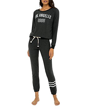 SOL ANGELES - New Arc Sweatshirt & Hacci Waves Slim Jogger Pants