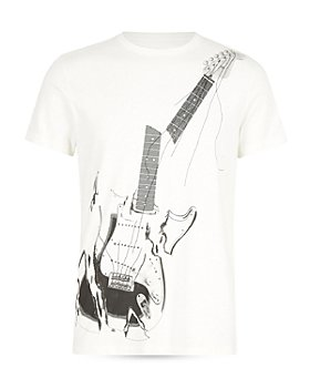 John Varvatos Star USA - Cotton Broken Guitar Graphic Tee