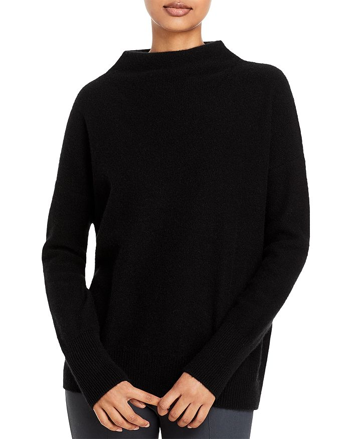 Vince - Boiled Cashmere Funnel Neck Sweater