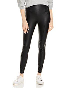 Lyssé - Textured Faux Leather Leggings