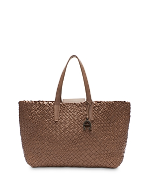Eitenne Aigner Irene Woven Leather Tote