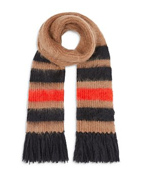 Burberry - Graphic Stripe Mohair-Silk Scarf