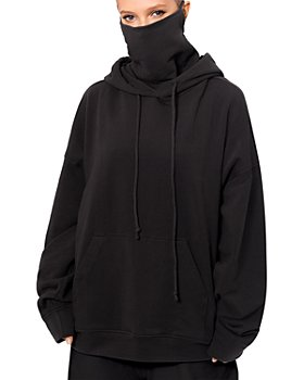BAM 17 - Bam17 Oversized Hoodie With Removable Mask