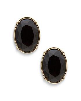 Ralph Lauren - Oval Button Earrings