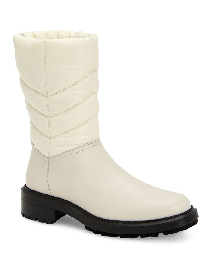 Aquatalia - Women's Lori Weatherproof Tech Nylon & Leather Boots