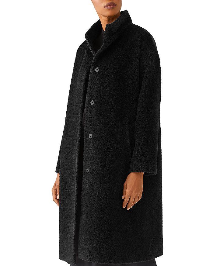 Eileen Fisher - Stand Collar Coat