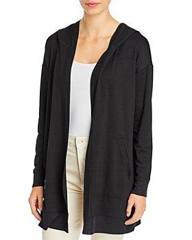 Eileen Fisher - Long Hooded Jacket