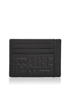 BOSS Hugo Boss - Crosstown Embossed Leather Card Case