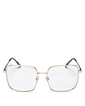 Burberry - Women's Square Blue Light Glasses, 58mm