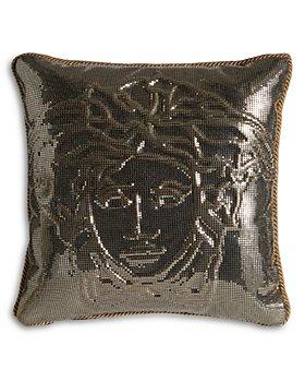 Versace - Sequin Medusa Cushion