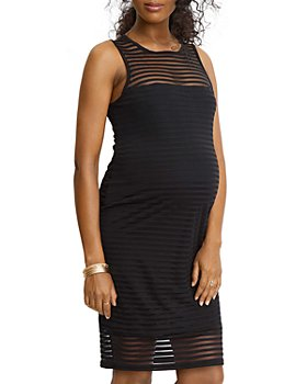 Stowaway Collection - Shadow Stripe Maternity Dress