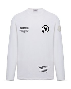 Moncler - Multi Logo Long Sleeve Tee