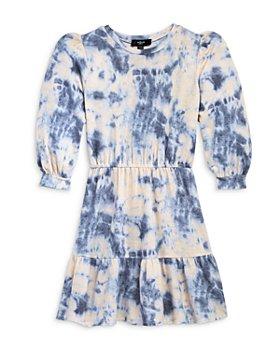 AQUA - Girls' Tiered Tie Dyed Dress, Big Kid - 100% Exclusive