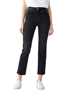 1961 Patti High Rise Vintage Straight Jeans in Corvus