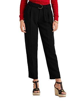 Ralph Lauren - Vatrissa High Rise Slim Crepe Trousers