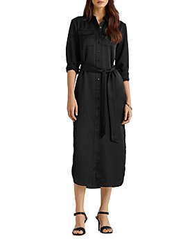 Ralph Lauren - Sateen Midi Shirtdress