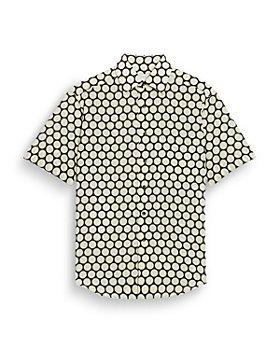Sandro - Polka Dot Short Sleeve Shirt