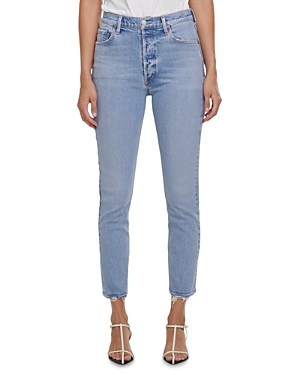 Agolde Nico Skinny Ankle Jeans in Cliffside