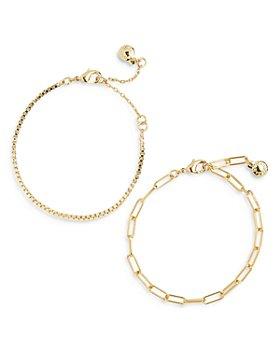 BAUBLEBAR - Ainsley Chain Bracelets, Set of 2