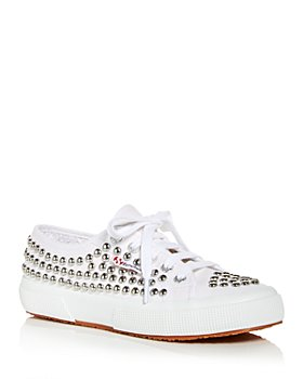 Superga - Women's Studded Low Top Sneakers