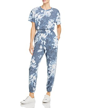 AQUA - Tie-Dyed Jumpsuit - 100% Exclusive