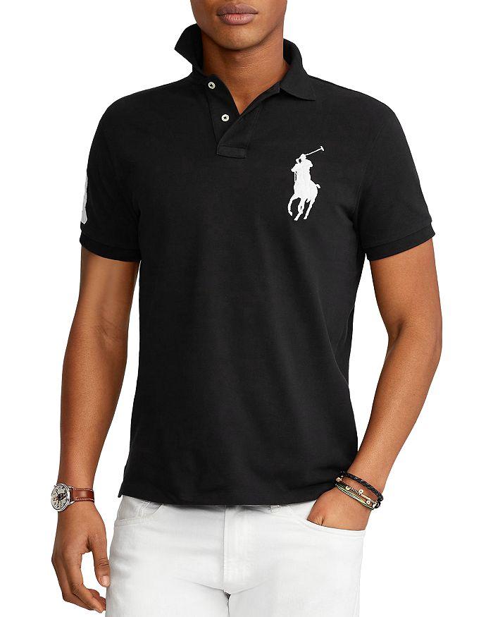 Big Pony Custom Slim Fit Mesh Polo Shirt