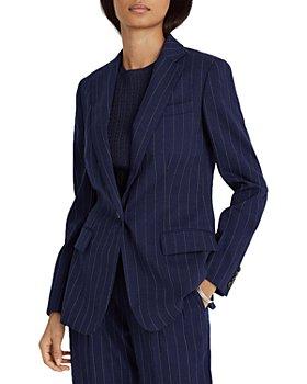 Ralph Lauren - Pinstriped Stretch Wool Blazer