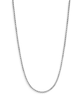 """JOHN HARDY - Sterling Silver Classic Curb Thin Chain Necklace, 24"""""""