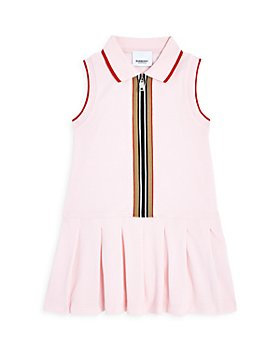 Burberry - Girls' Martina Piqué Polo Tennis Dress - Little Kid, Big Kid