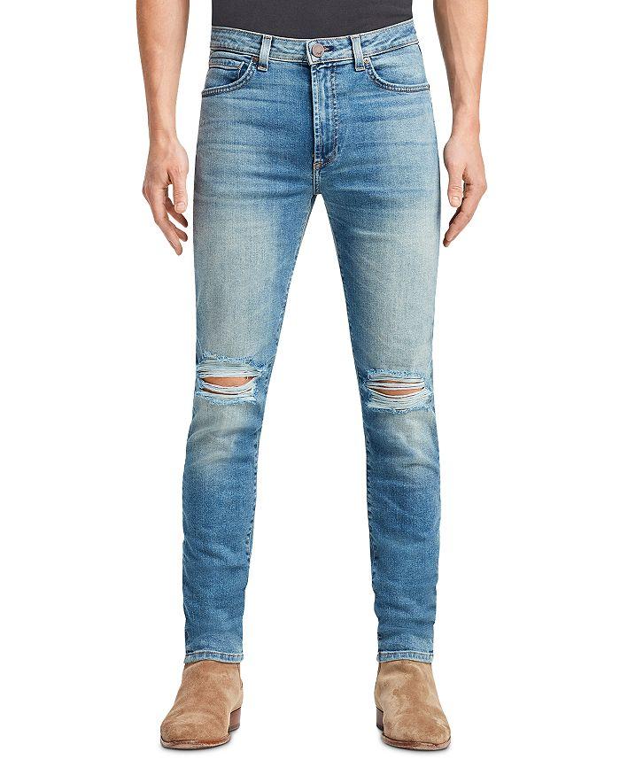 MONFRÈRE - Greyson Skinny Jeans in Distressed Prague