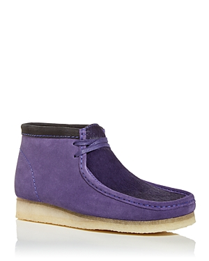 Clarks Men\\\'s Wallabee Calf Hair Desert Boots