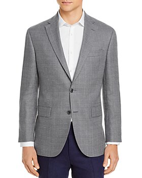 Jack Victor - Conway Textured Solid Regular Fit Sportcoat