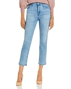 J Brand - Alma High Rise Straight Jeans in Atra