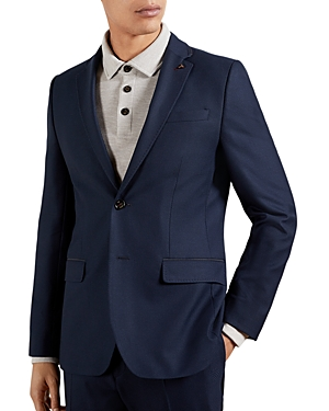 TED BAKER TEXTURED REGULAR FIT BLAZER