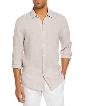 The Men's Store at Bloomingdale's - Bi-Color Linen Classic Fit Shirt - 100% Exclusive