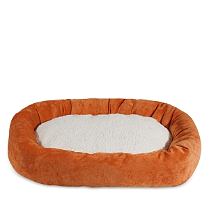 Majestic Pet Villa Sherpa Bagel Dog Bed, Medium