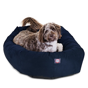 Majestic Pet Faux Suede Bagel Dog Bed, Extra Large