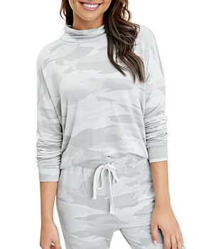 Splendid - Lena Camo Cowl Neck Top
