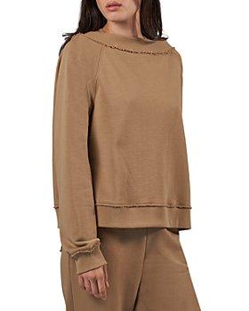 ATM Anthony Thomas Melillo - Off the Shoulder Sweatshirt