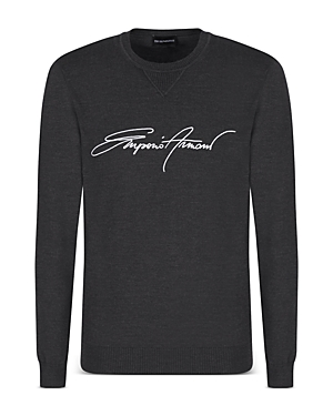 Embroidered Logo Sweater