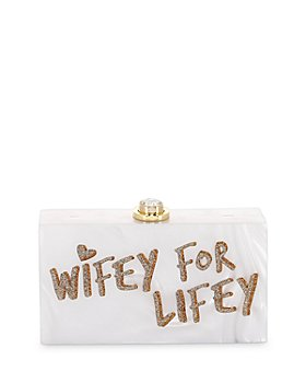 Sophia Webster - Cleo Wifey For Lifey Box Clutch