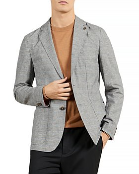 Ted Baker - Prince of Wales Check Regular Fit Blazer