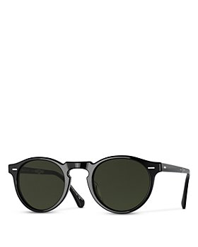 Oliver Peoples - Unisex Gregory Peck 1962 Folding Polarized Round Sunglasses, 47mm