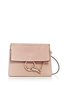 Chloé - Faye Leather & Suede Shoulder Bag